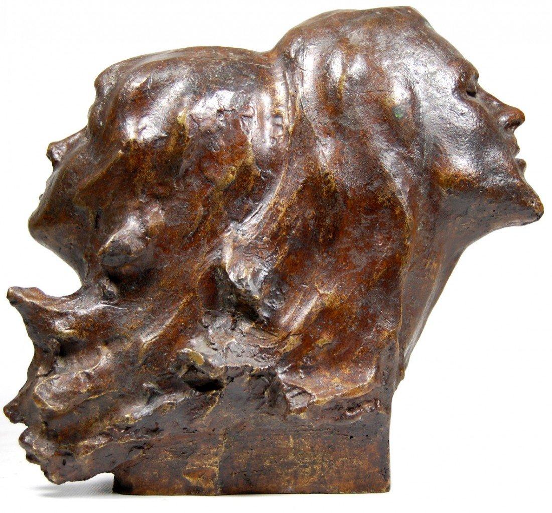 124: Bronze, Male & Female, Victor Salmones