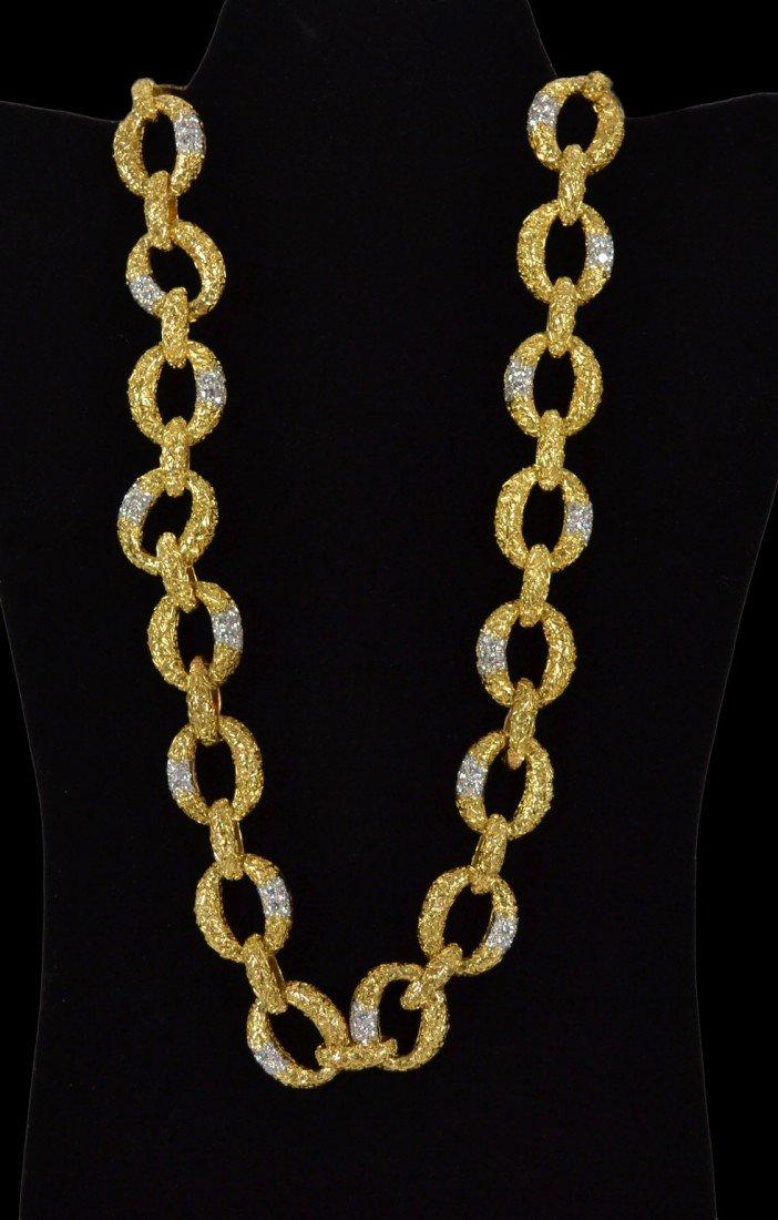 "169: Van Cleef & Arpels ""Sevres Sautoir"" 18k & diamonds"