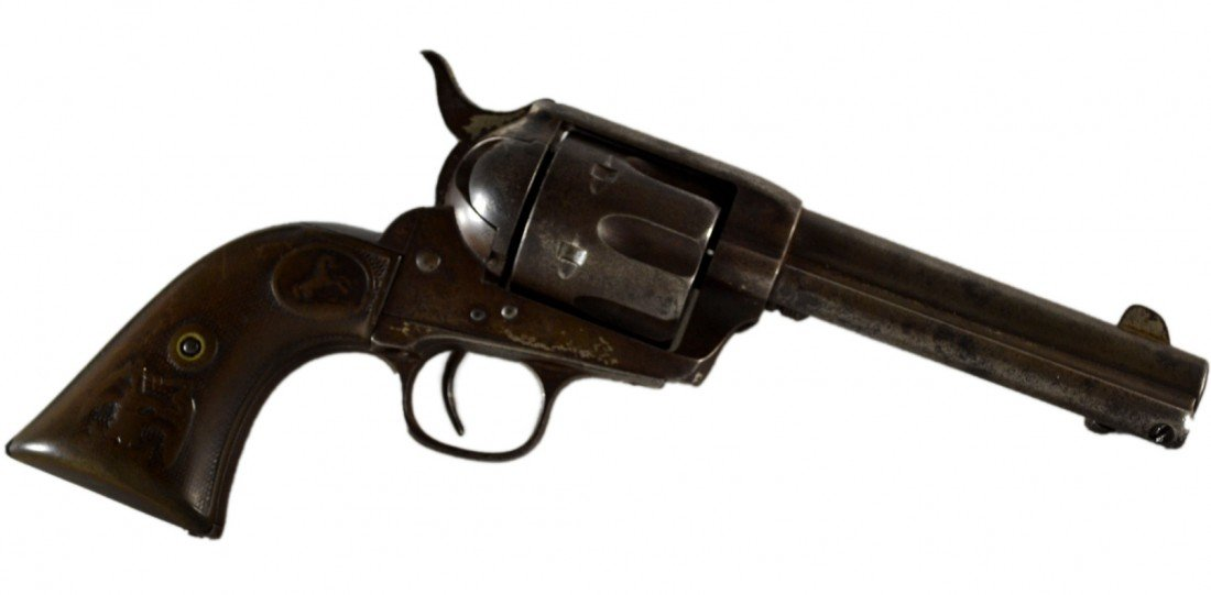 511: Colt Army Single Action Revolver #109465, 1884