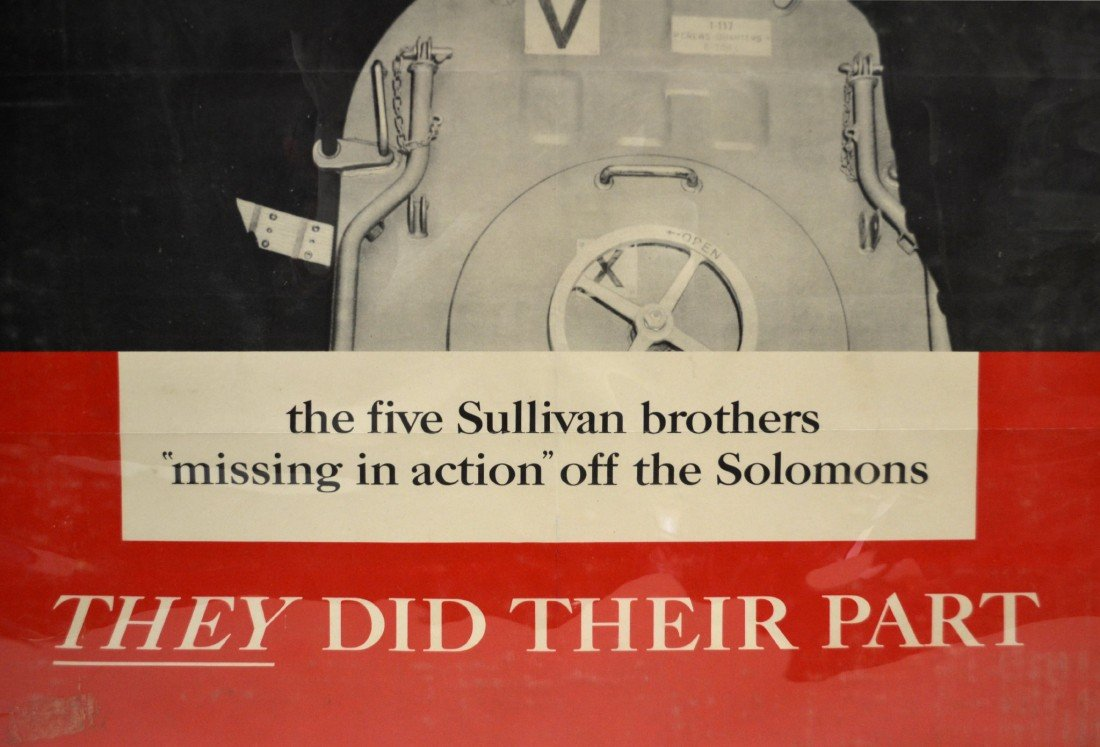 573: Poster, WWII era Five Sullivan Brothers - 2