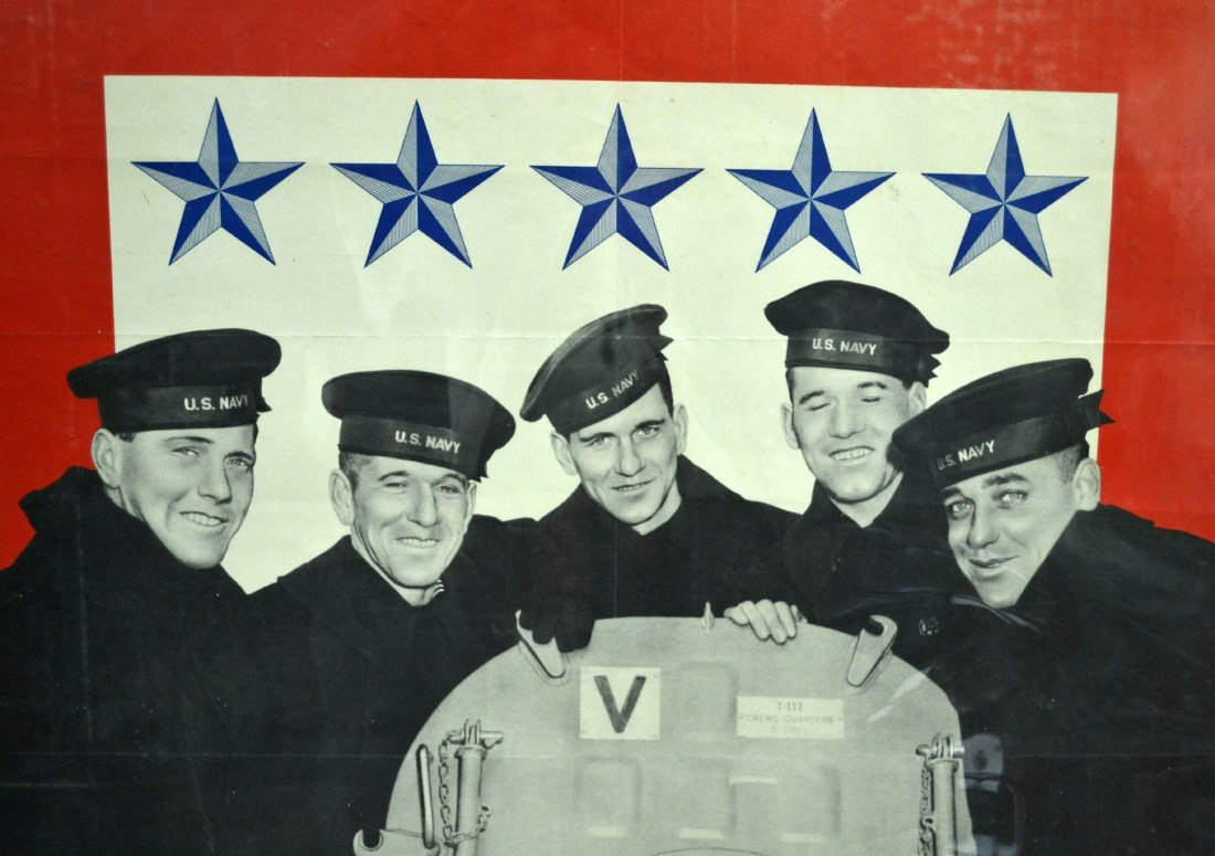 573: Poster, WWII era Five Sullivan Brothers - 3