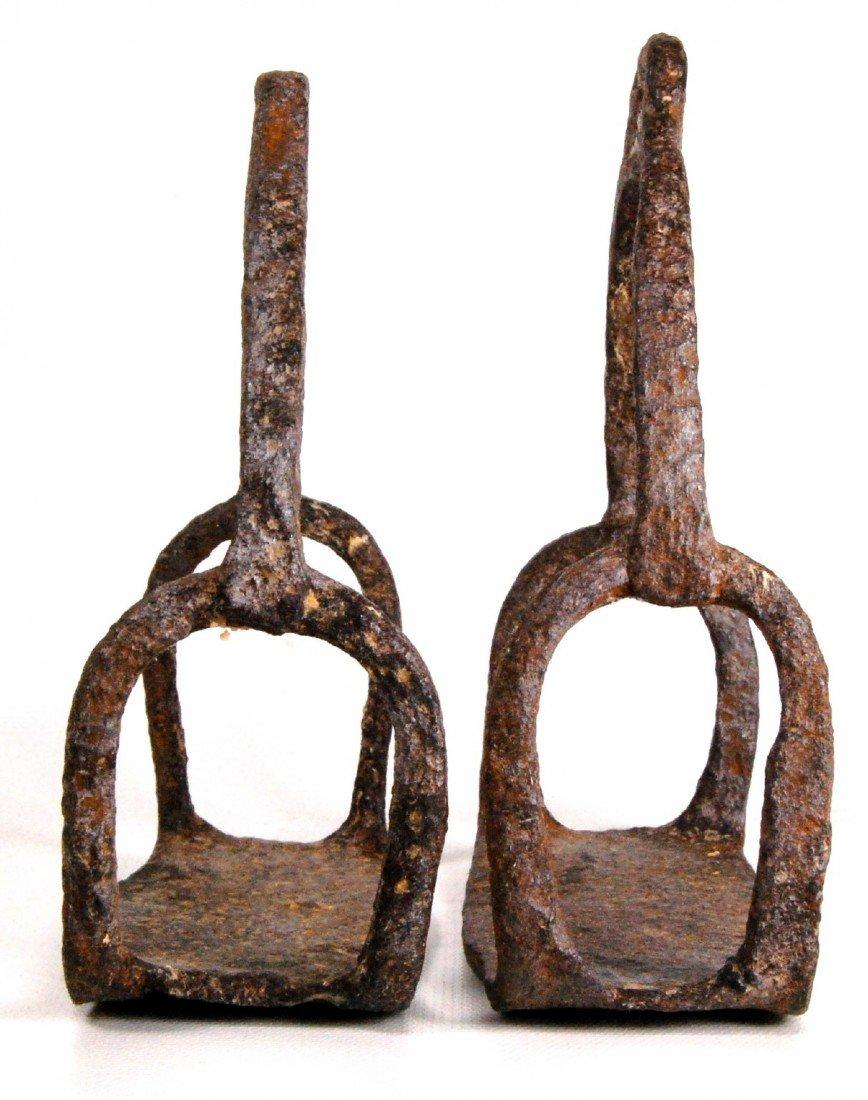 579: Stirrups, Revolutionary War Iron