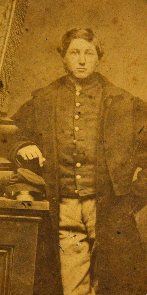 589: Albumen Photo-Union Soldier, Pvt. S. Gould, 1862