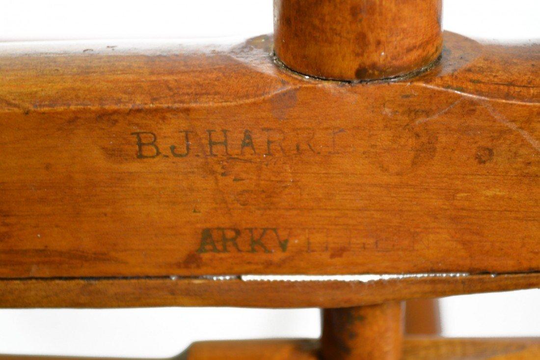758: Camp Chair, folding 19th c. B. J. Harrison, NY - 6