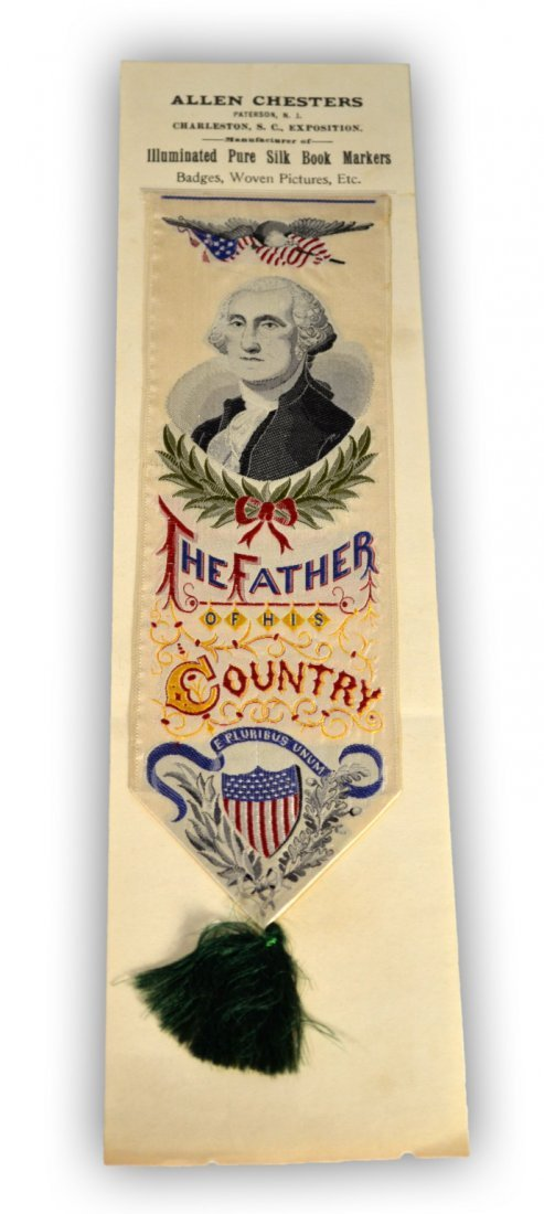 6: Bookmark, silk, Charleston South Carolina, 1901