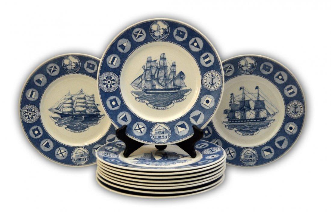 377: Plates (11), Peabody Museum Anniversary 1949