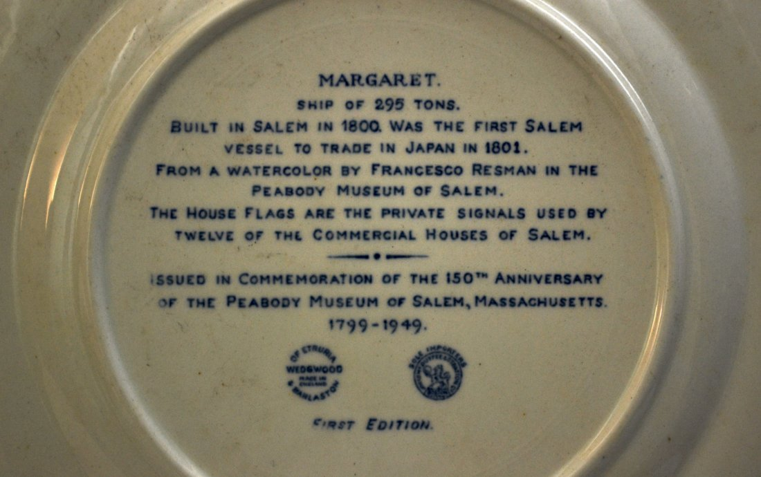 377: Plates (11), Peabody Museum Anniversary 1949 - 5
