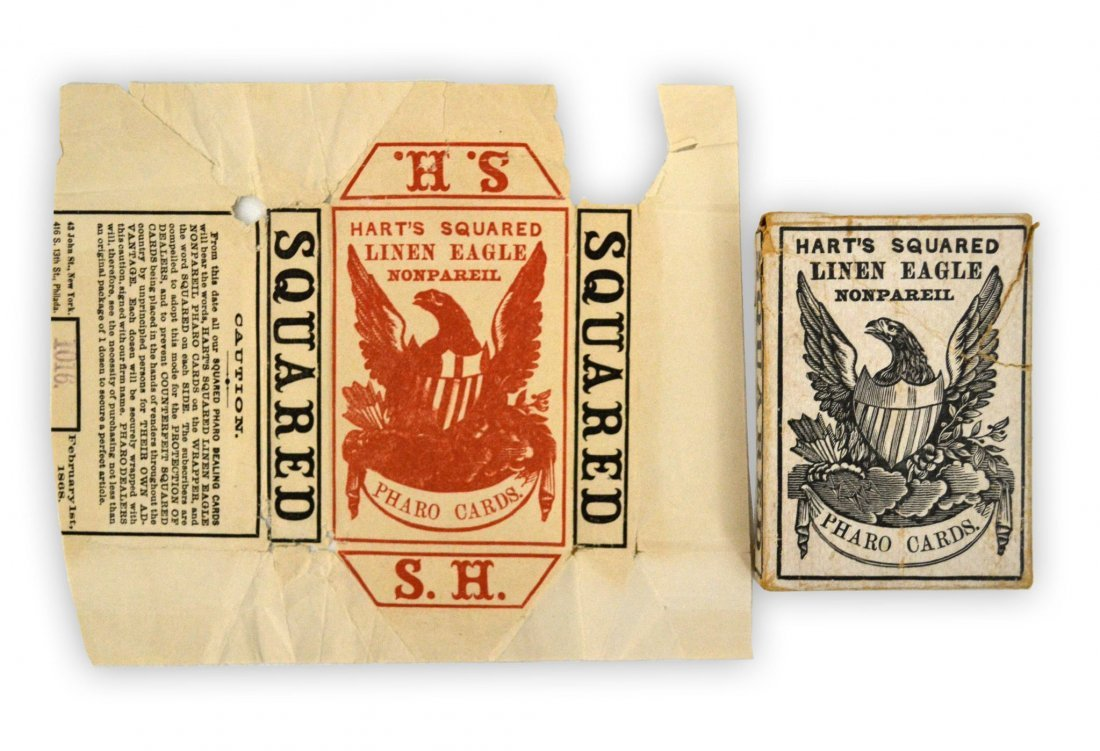506: Playing cards, Samuel Hart & Co, 1868