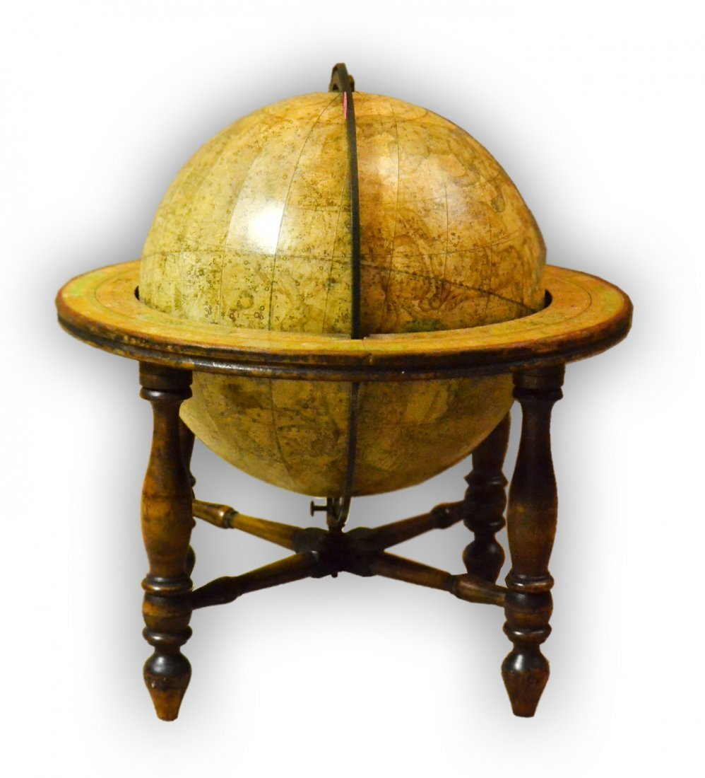 511: Globe, celestial, Smith, Boston, dated 1841