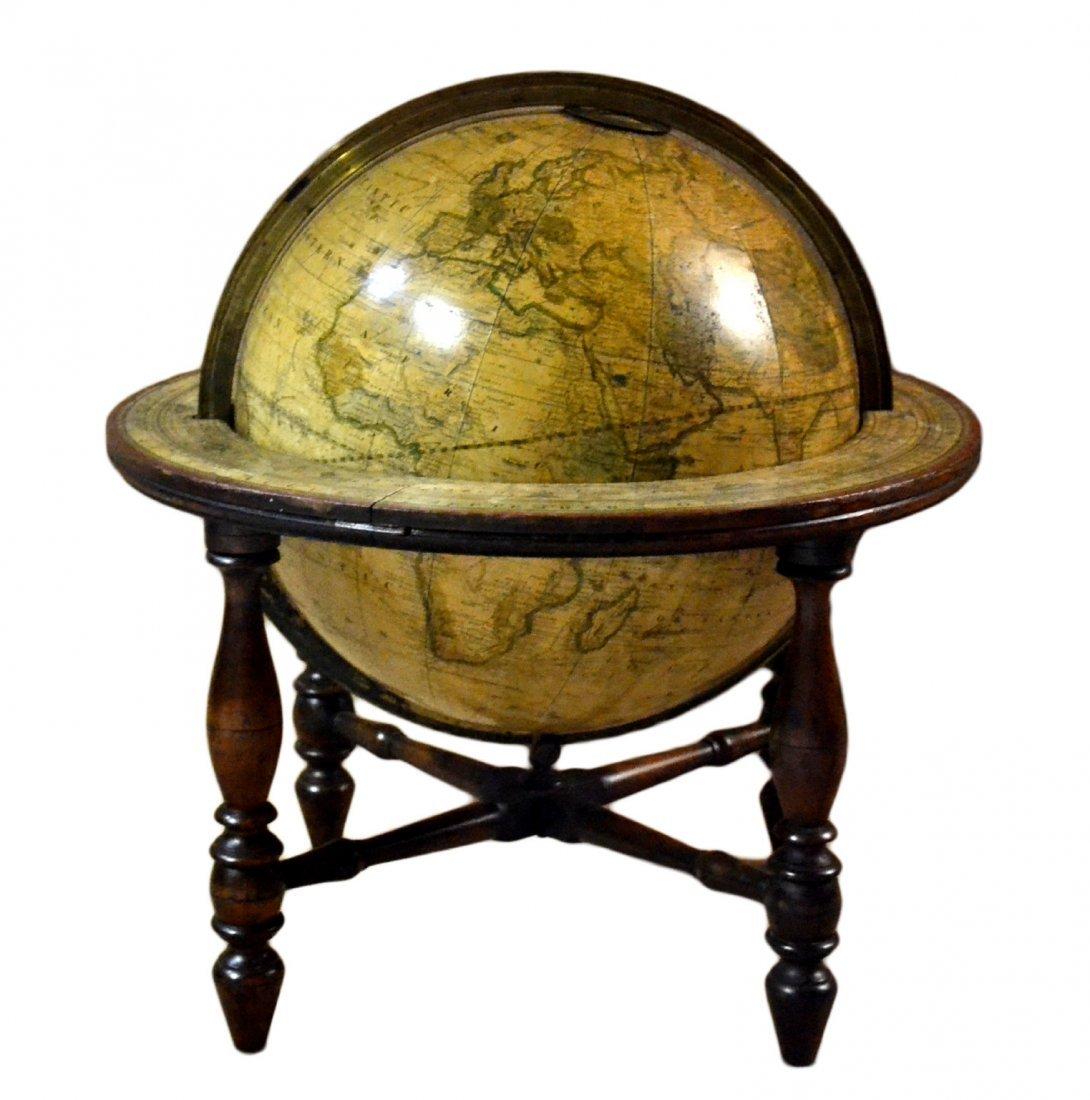 "512: Globe Terrestrial 12"", H. B. Nims, NY c.1860"