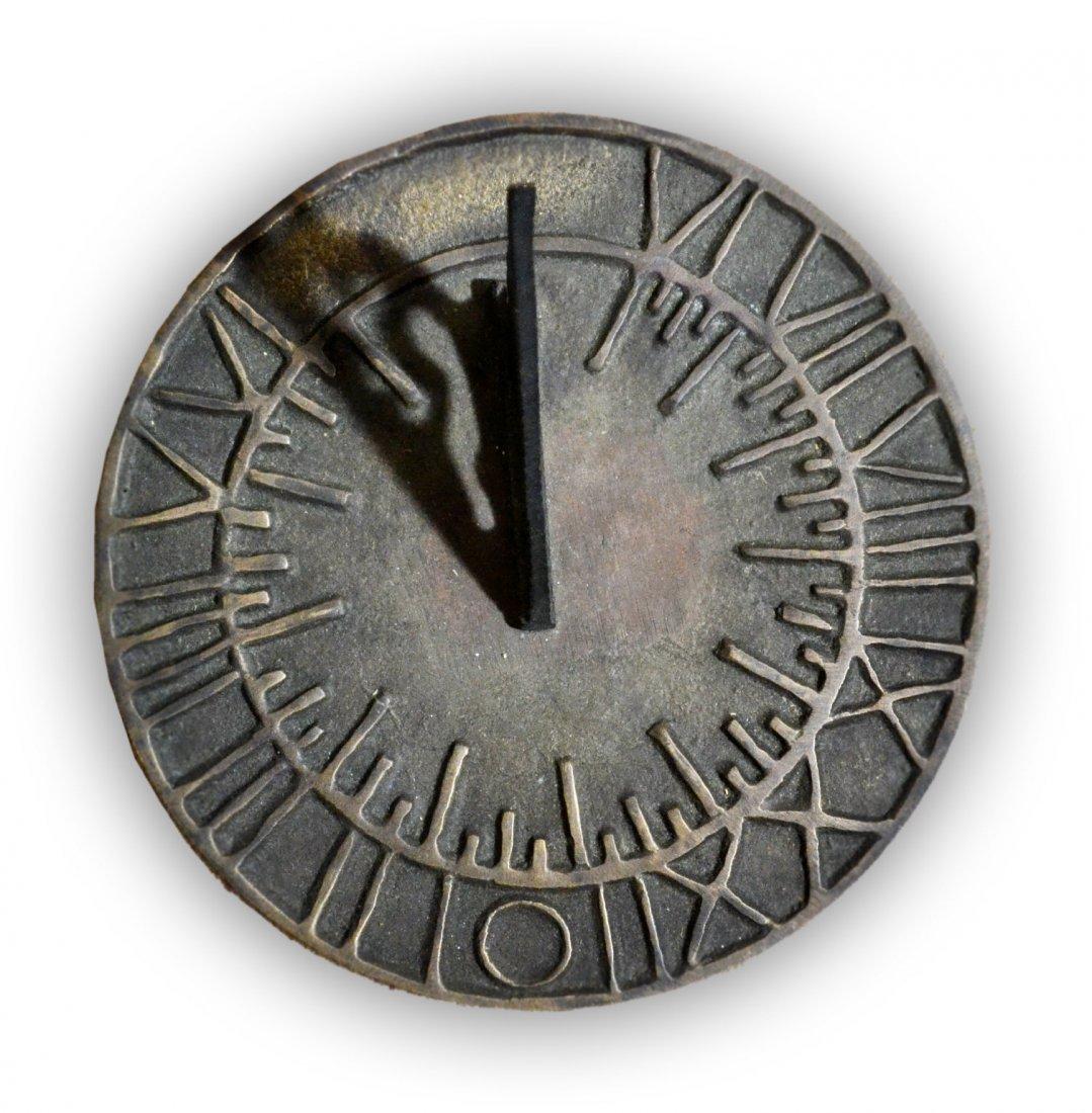 514: Sundial, Cast Brass, Troy, NY, Circa 1900