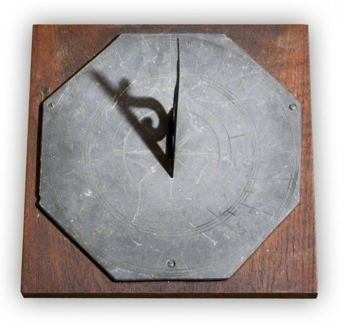 523: Sundial, Octagon, James Walsh, Compass Rose