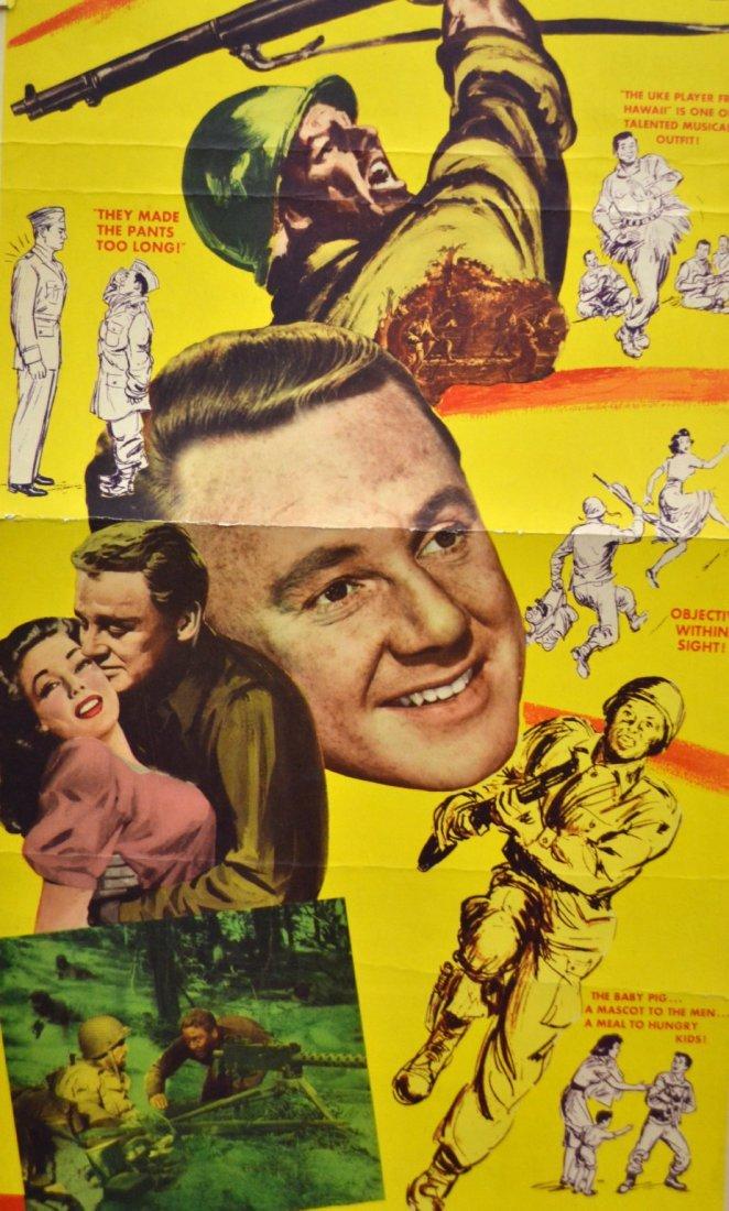 541: Movie Insert Poster 'Go For Broke' 1951 - 3