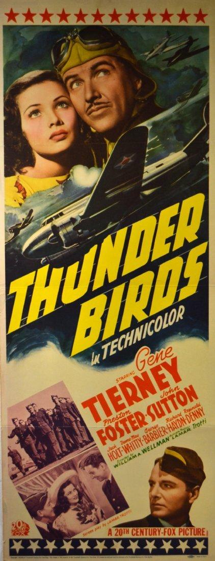 572: Movie Insert Poster 'Thunderbirds' 1942