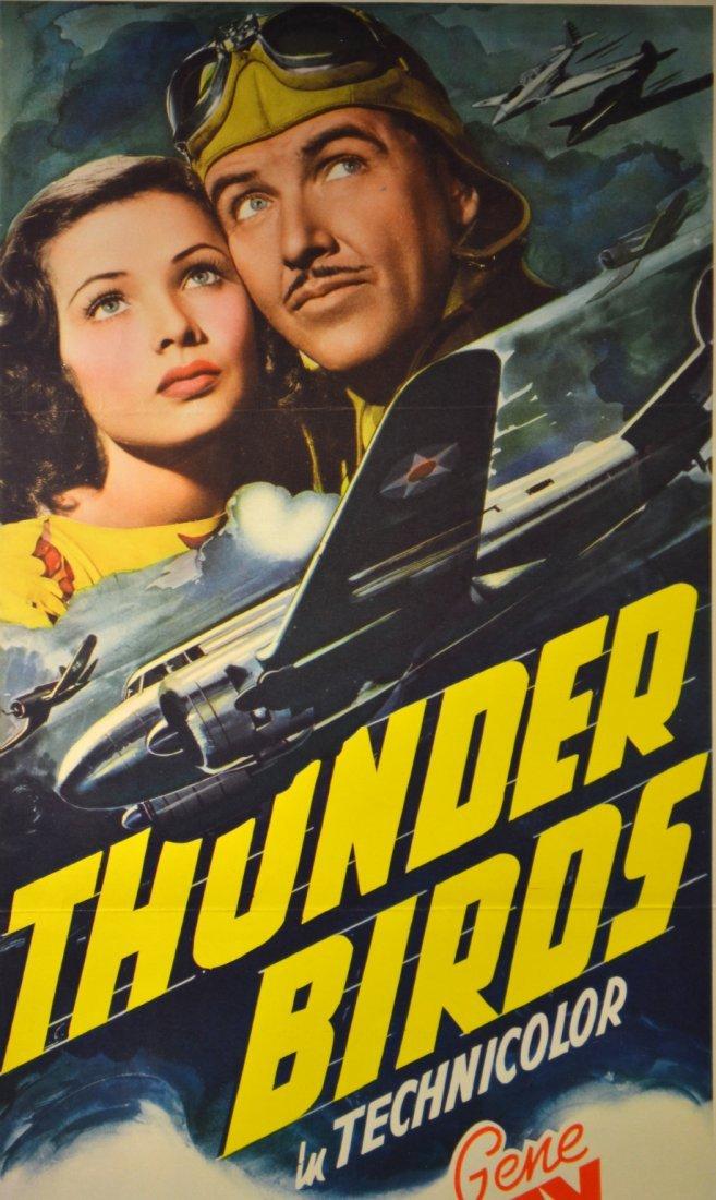 572: Movie Insert Poster 'Thunderbirds' 1942 - 2