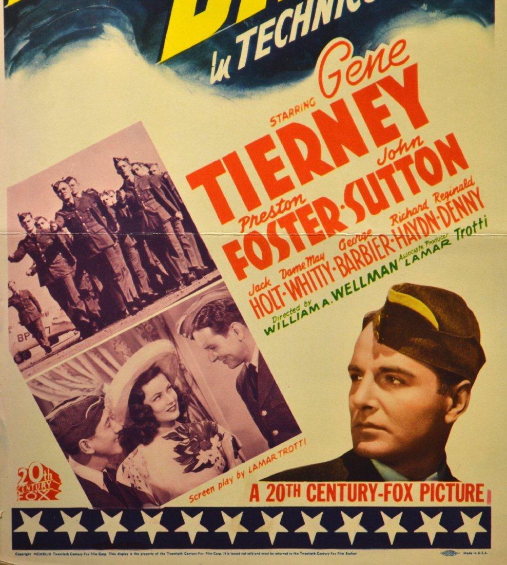 572: Movie Insert Poster 'Thunderbirds' 1942 - 3
