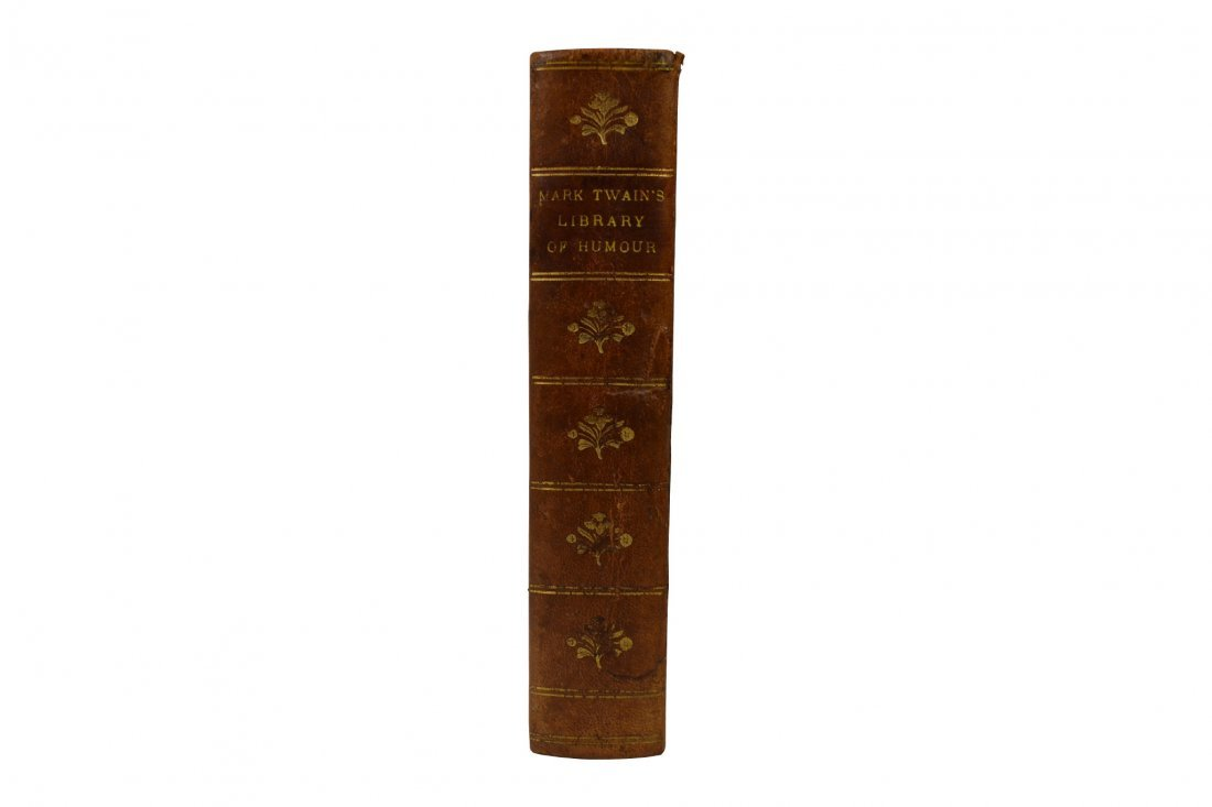 Book, Mark Twain's Library of Humor, 1st Edition
