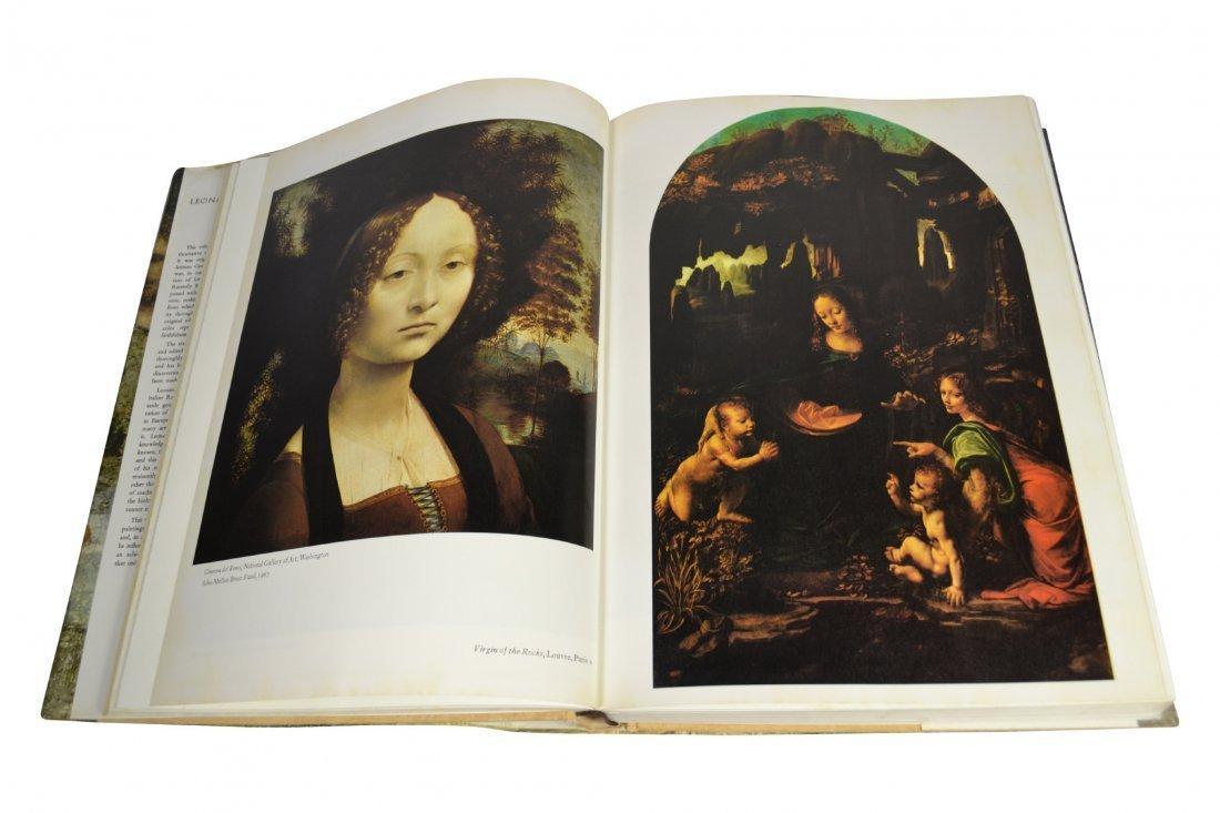 (7) Coffee Table Art Books, Da Vinci, Manet - 3