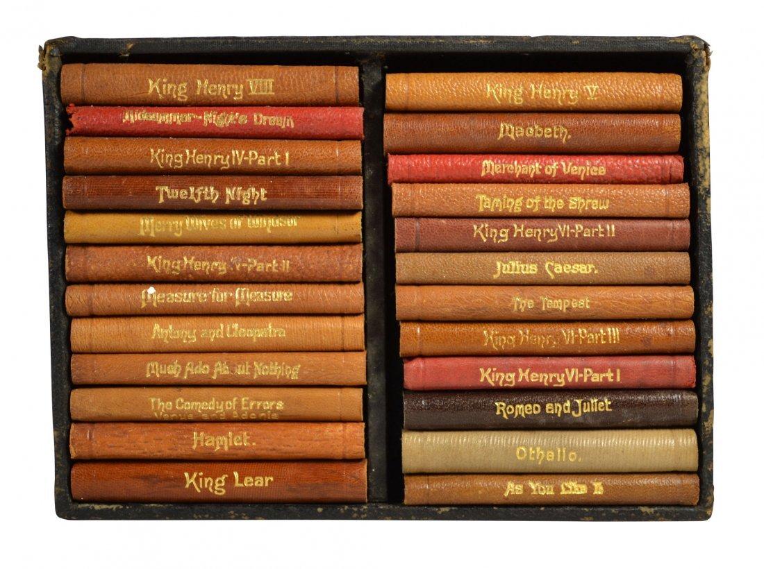 (24) Books, Shakespeare's Works, Miniature