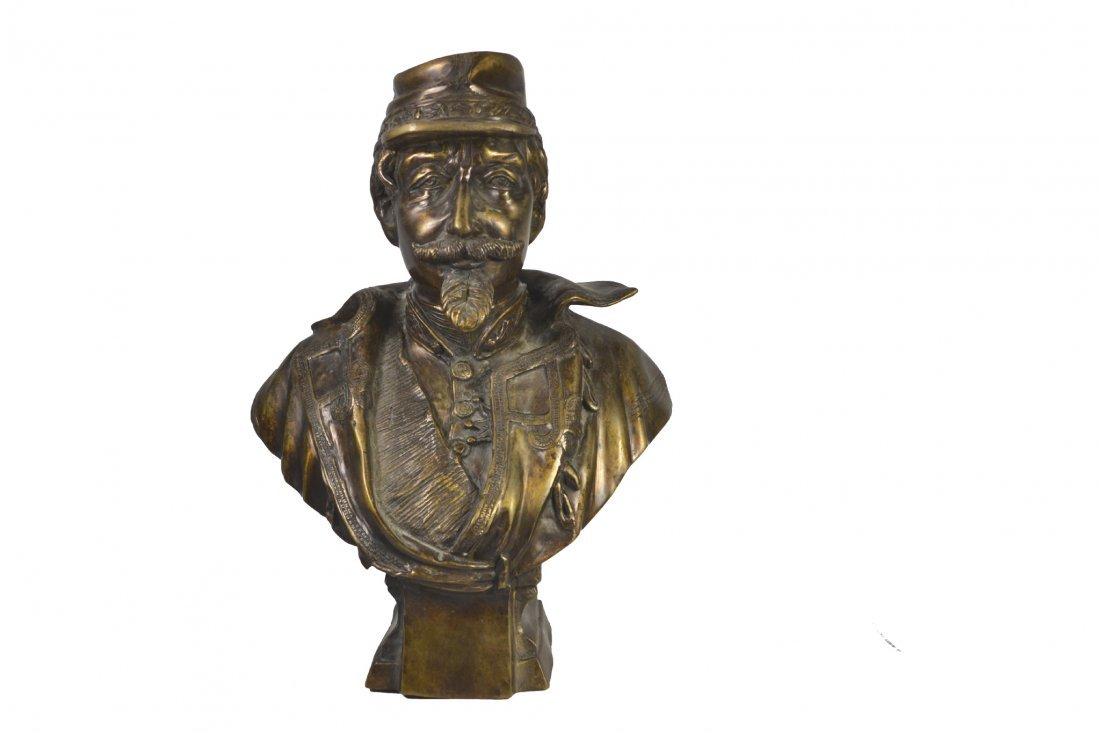 Bronze, General P.G.T. Beauregard Bust