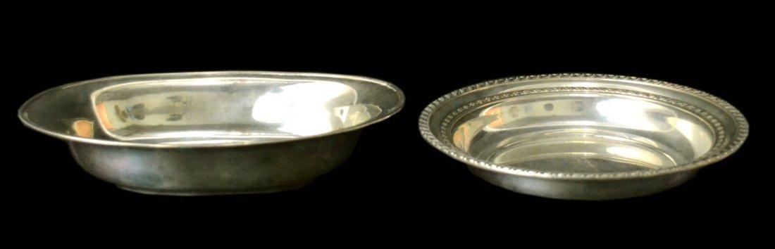 (2) Bowls, Silver, Whiting, Hirsch, 22.7 ounces