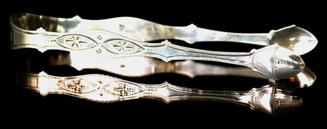 Sugar Tong, Silver, P & A. Bateman, 1806, 1.2 oz.