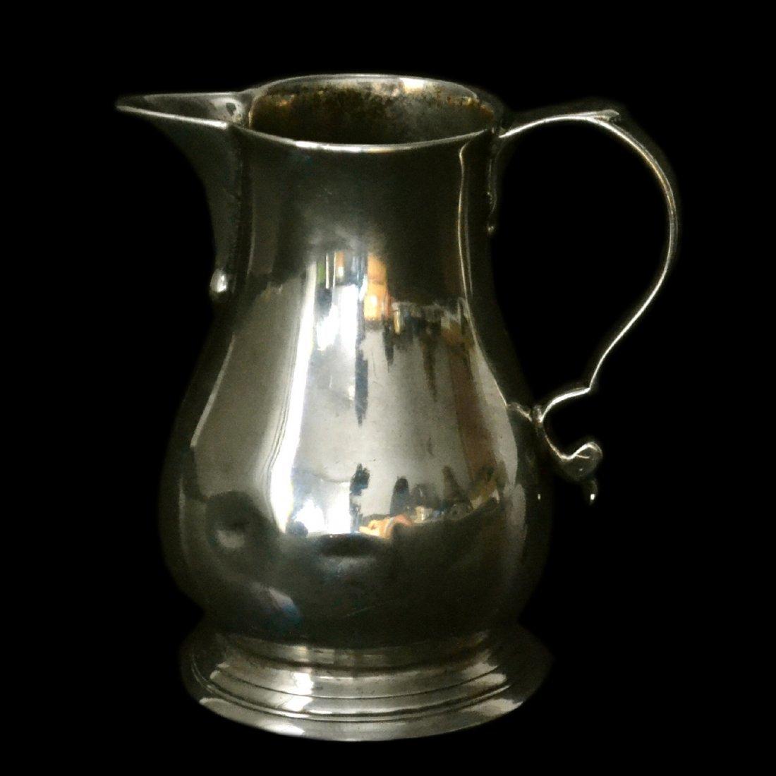 Creamer, Silver, Georgian, 1791, 3 ounces
