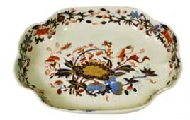 Dish, Sweetmeat, Spode, Imari Style, c 1820