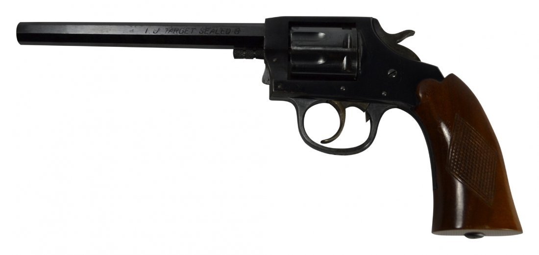 Pistol, Iver Johnson, Target - 2