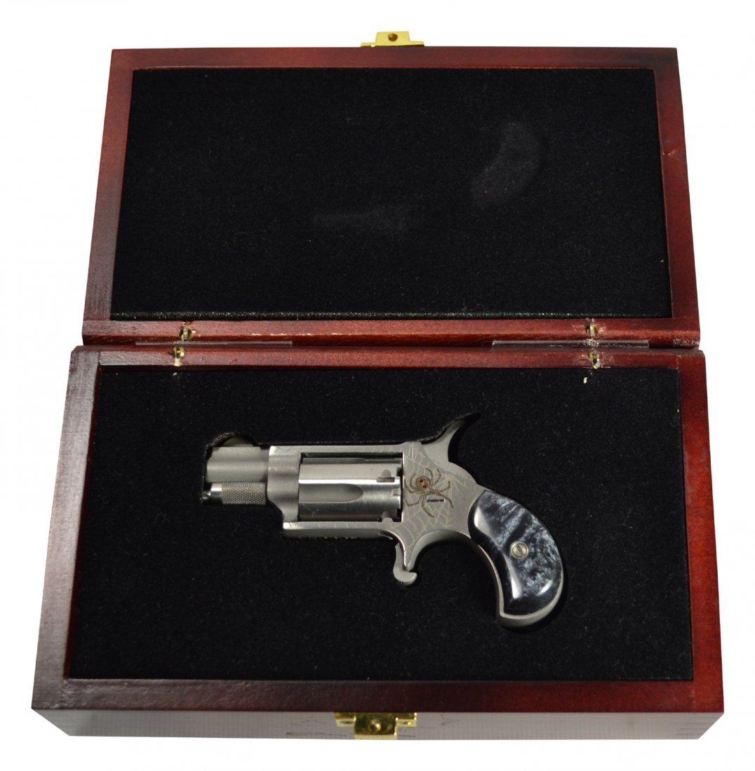 Mini Pistol, w/spider decoration