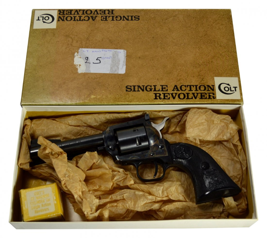 Pistol, Colt, New Frontier, .22cal - 3