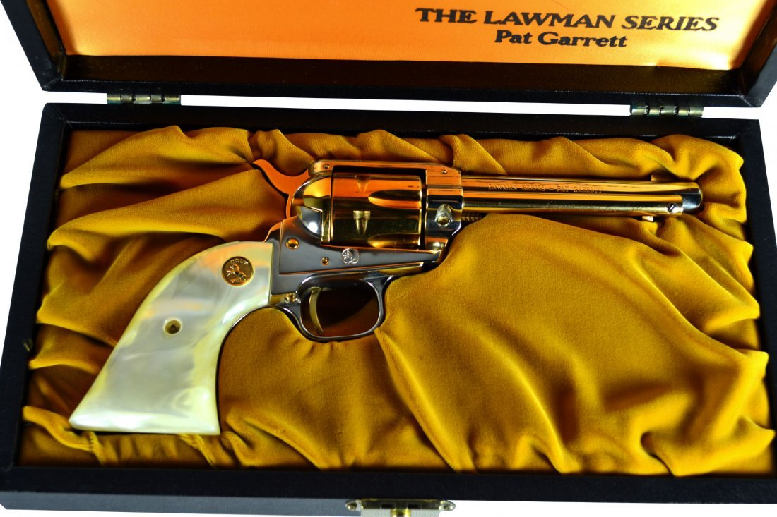 Pistol, Colt, 'Lawman Pat Garrett' .22LR