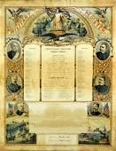 Chromolitho, Spanish Amer War, Military Register