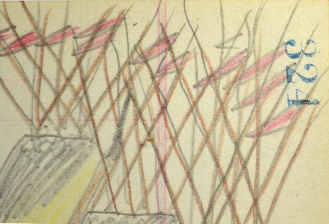 Ledger Drawing - American Indian, Naive - 3