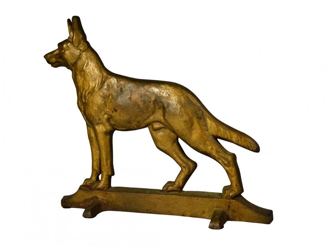 Doorstop, German Shepherd