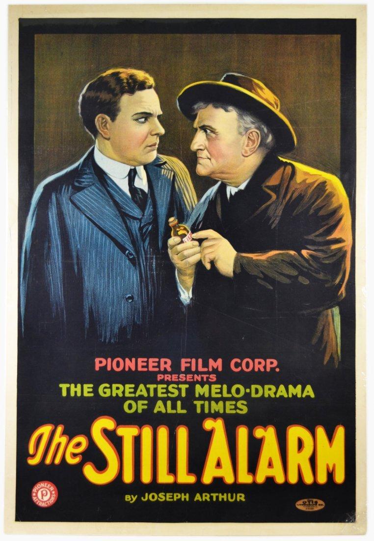 """Movie Poster, """"The Still Alarm"""" 1926"""