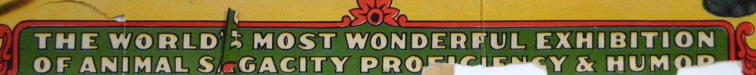 Circus Advertisement, M.L. Clark & Sons 1930 - 2