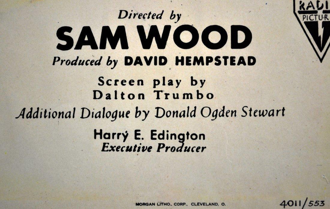 """Movie Poster, """"Kitty Foyle"""" 1940 - 3"""