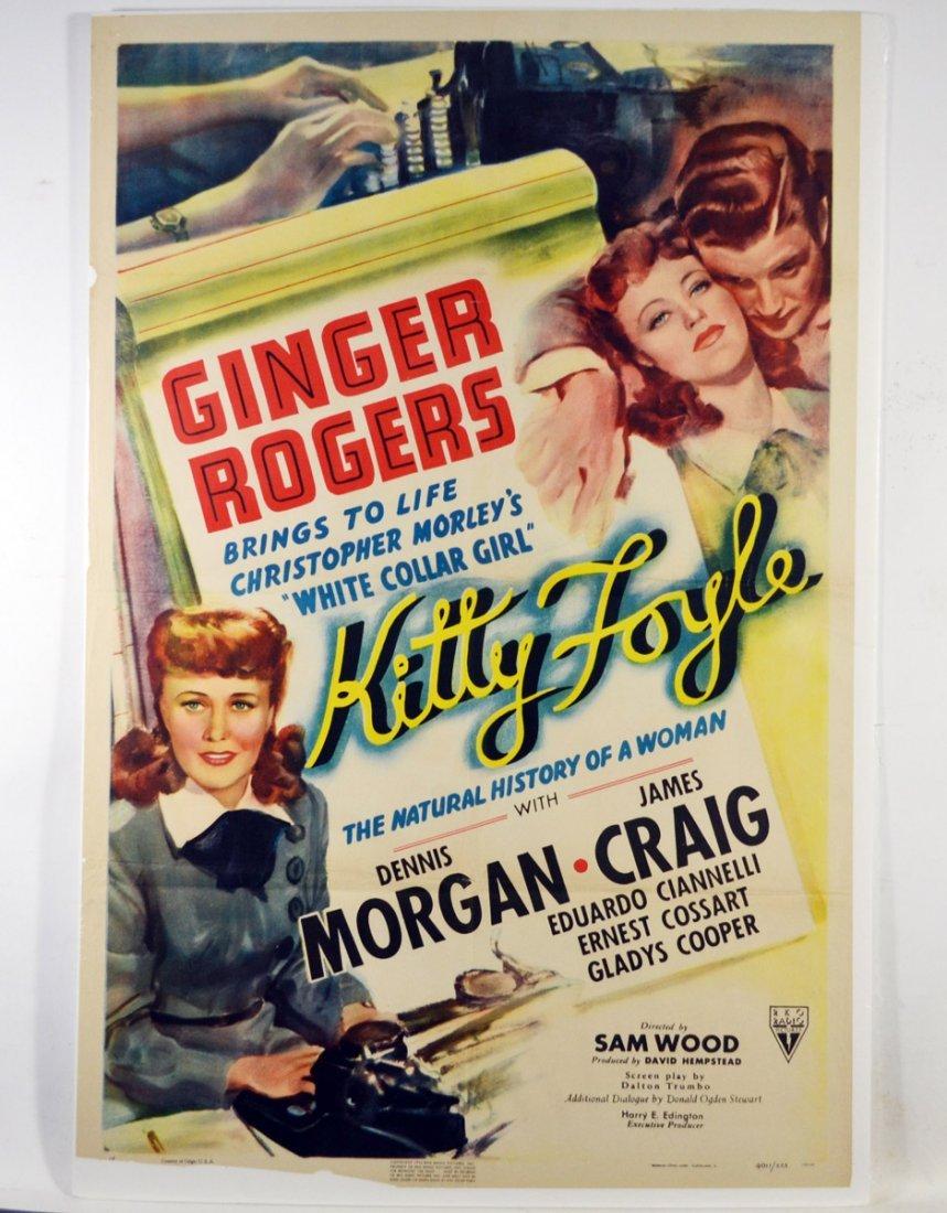 """Movie Poster, """"Kitty Foyle"""" 1940 - 5"""