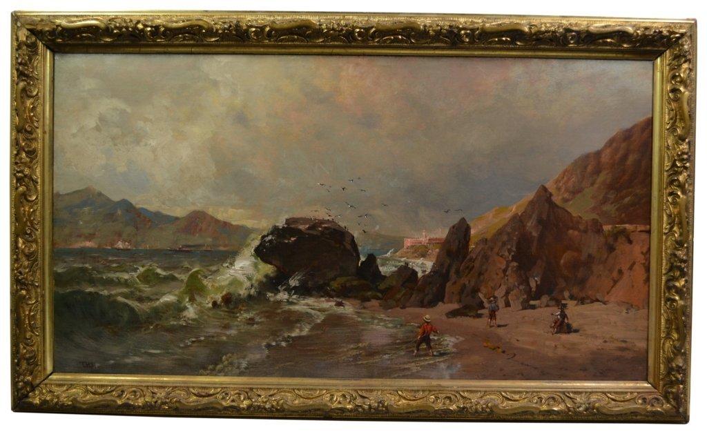 O/C Thomas Hill, 'Baker Beach, Fort Hill, S. F. - 2
