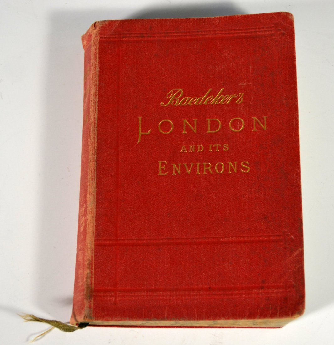 "Book ""London & Its Environs"" 16th ed,1911"