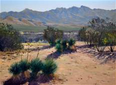 O/M 'Southwestern Scene' by R. Thomas