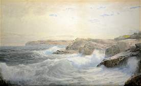 W/C 'Newport Seascape' by W. T. Richards