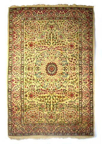 Rug, Persian scatter rug, c. 1920-45