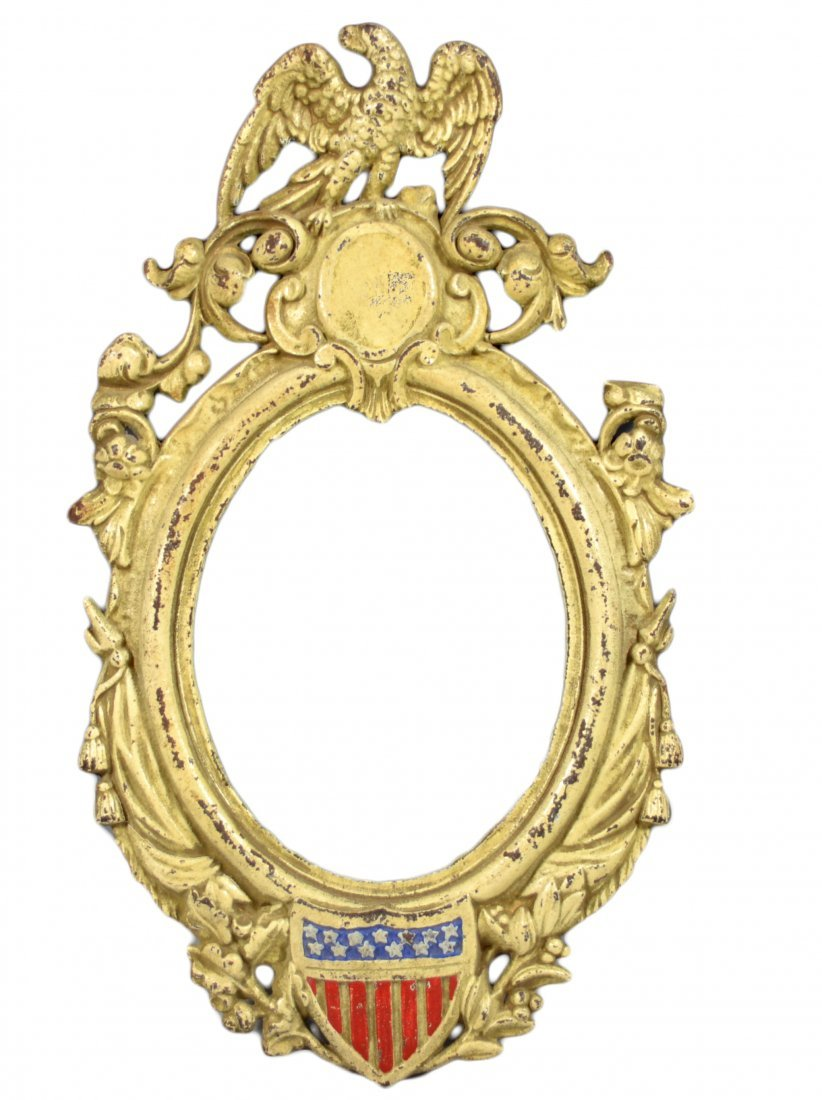 Frame, America, Cast Iron, 1862, Civil War