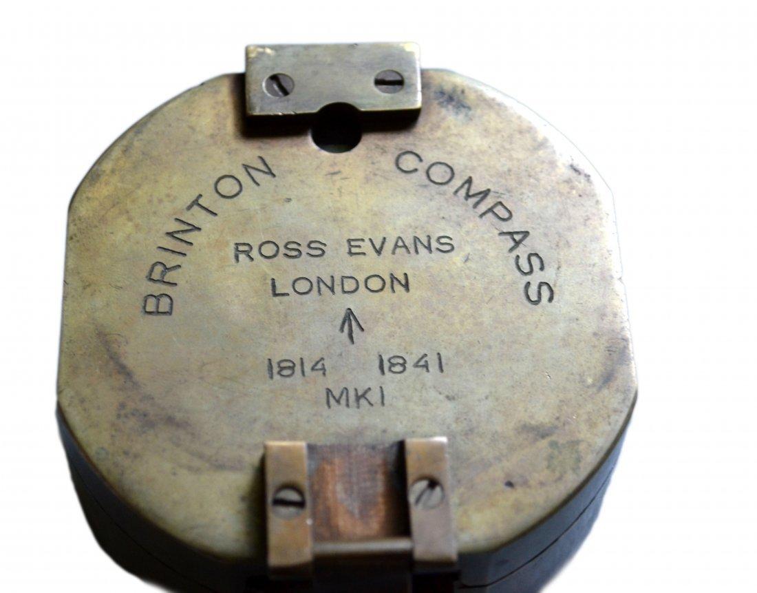 Ship's Compass, Brinton, Ross Evans, London 1841 - 2