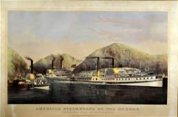 Litho owned by FDR CI Steamboats on Hudson