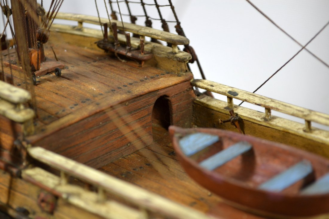 Ship Model, The Halve Maen (The Half Moon) - 10