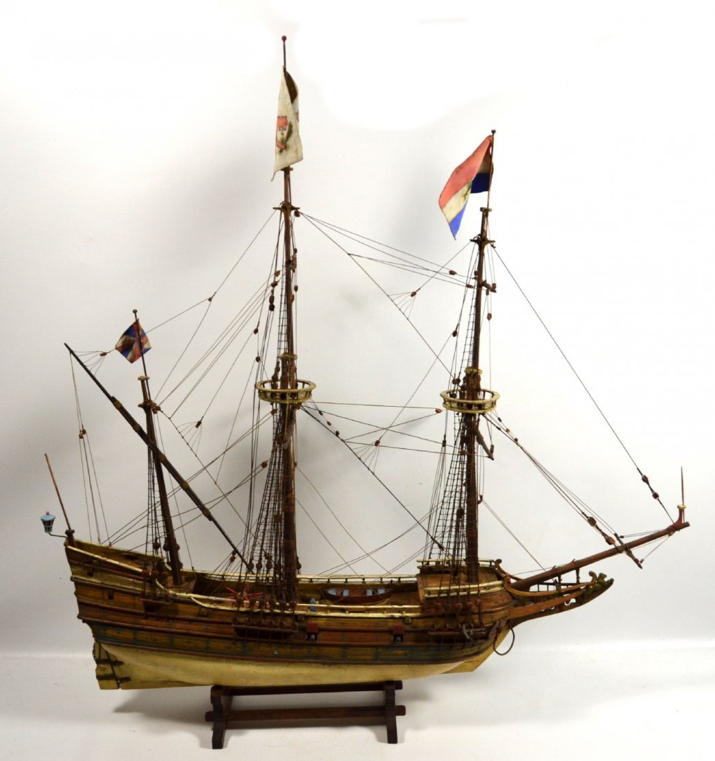 Ship Model, The Halve Maen (The Half Moon)