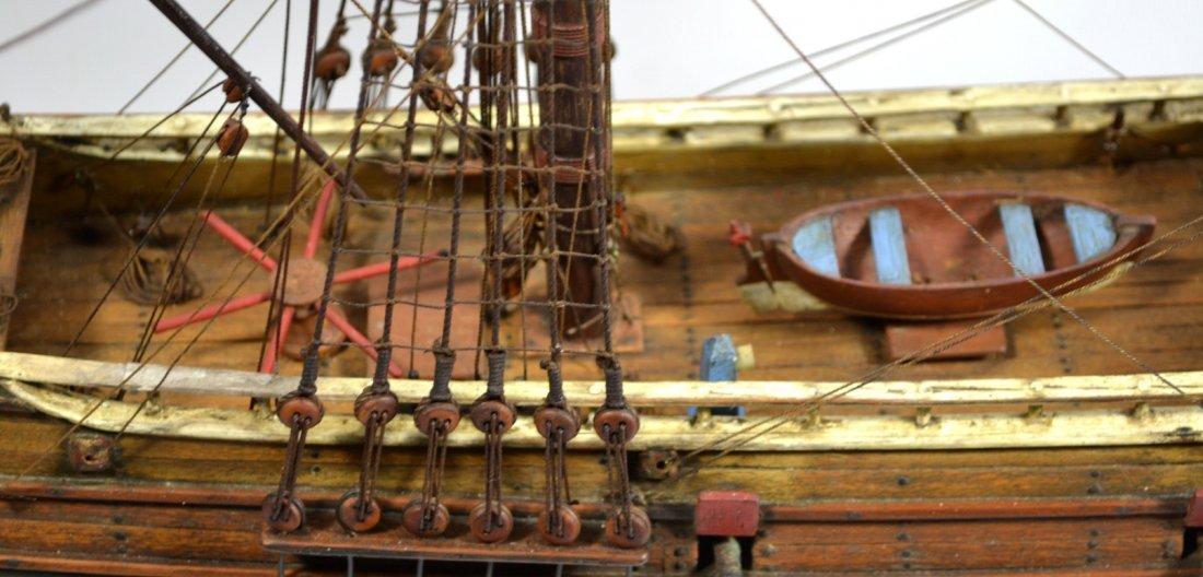 Ship Model, The Halve Maen (The Half Moon) - 5